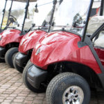 Yamaha golfautot saapuvat Pickalaan