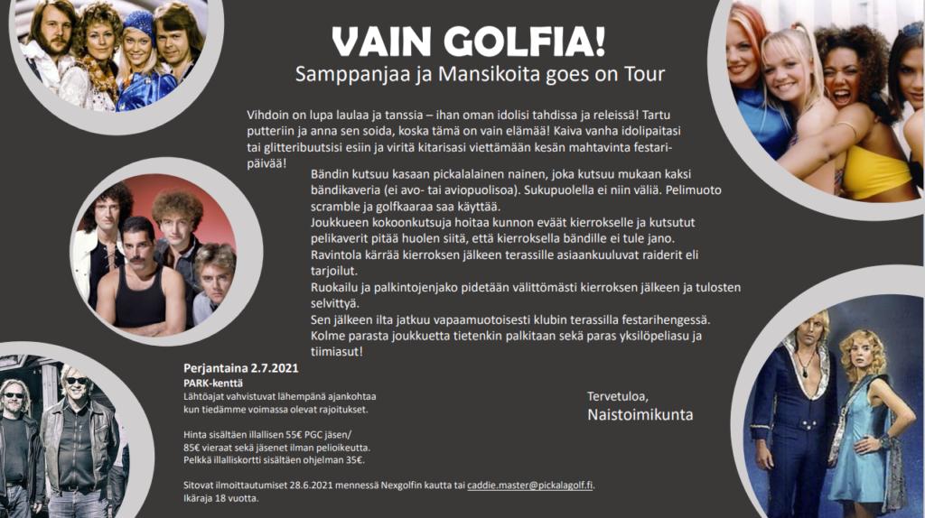 Sampanjaa & Mansikoita goes on Tour