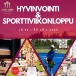 Hyvinvointi ja Sporttiviikonloppu la 17.7. – su 18.7.